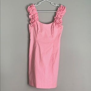 Lily Pulitzer tank dress with ruffles